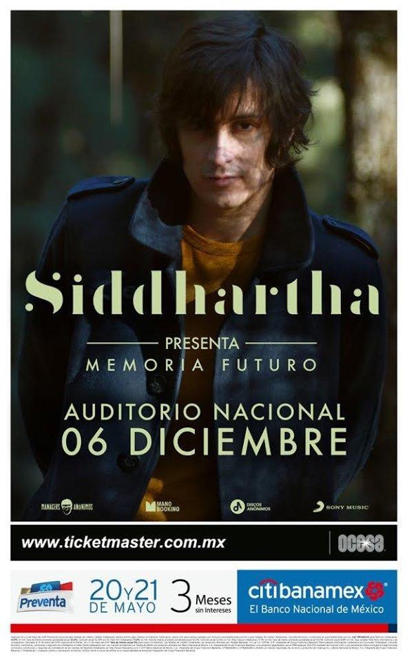 Siddhartha en el Auditorio Nacional