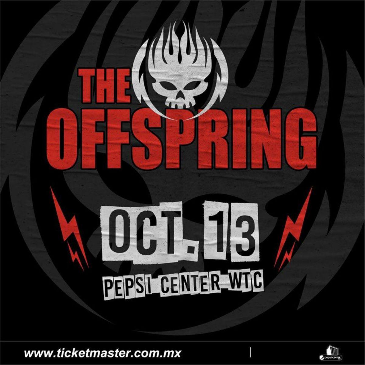 The offspring Pepsi Center concierto boletos precios 13 octubre