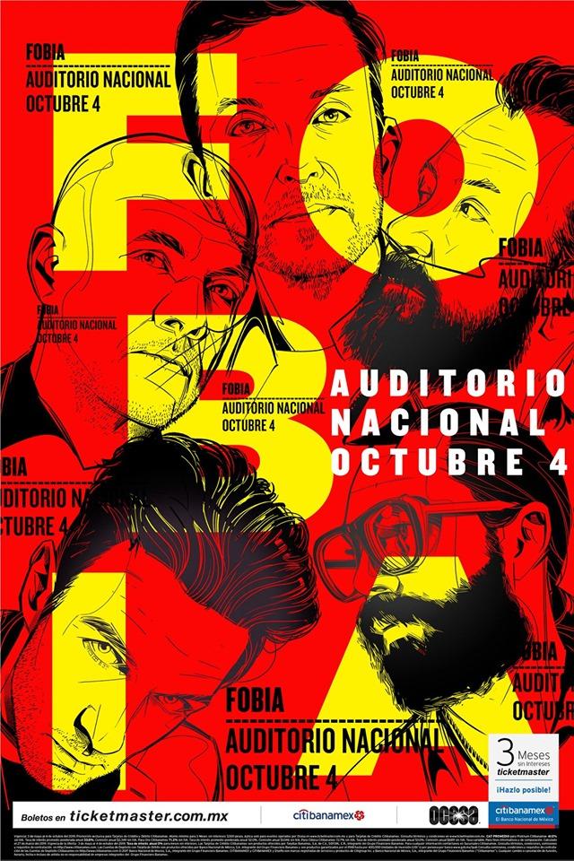 Pastel, de Fobia, en el Auditorio Nacional