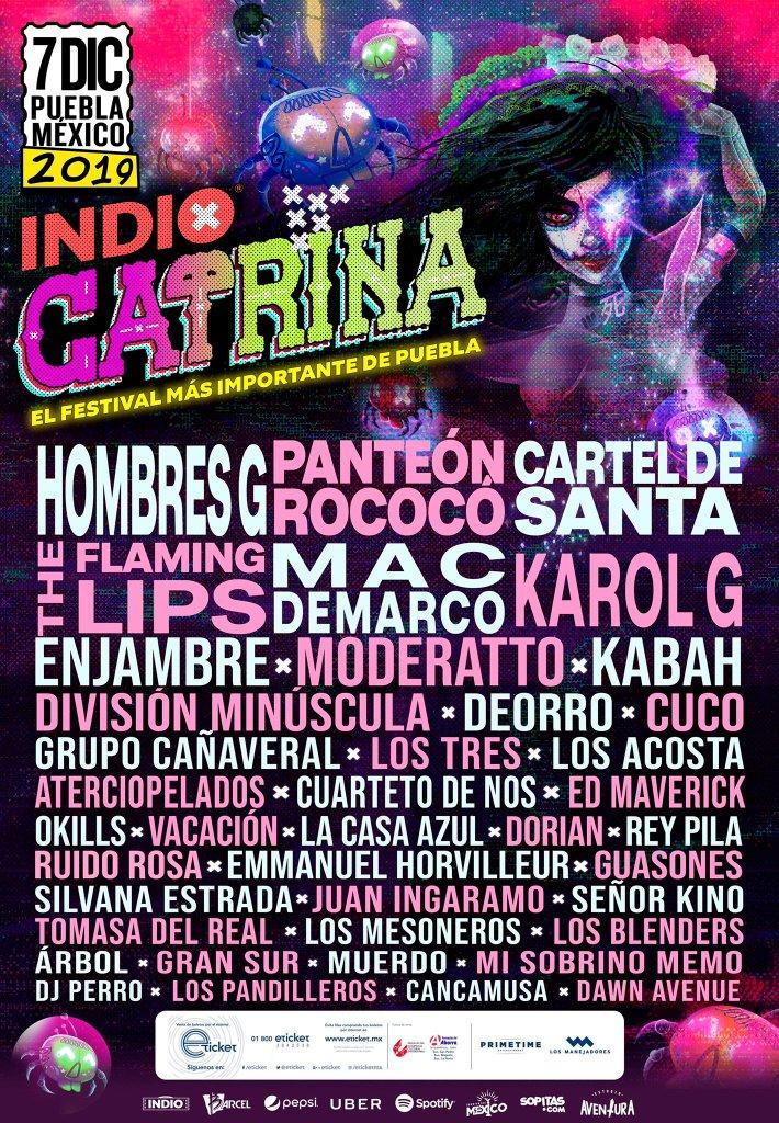 Festival Catrina cartel