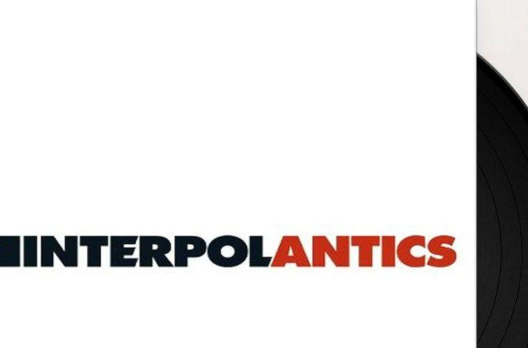 Interpol Antics aniversario 15 reedición vynil