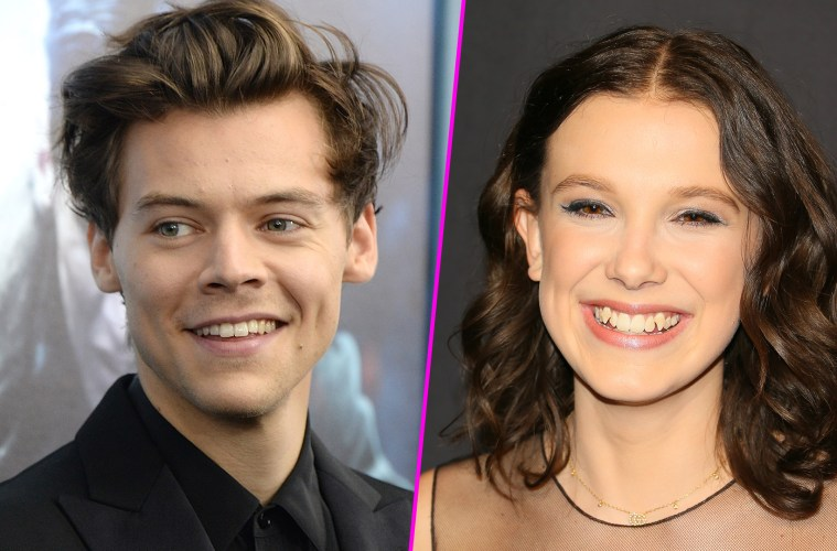 Harry Styles y Millie Bobby Brown en concierto de Ariana Grande