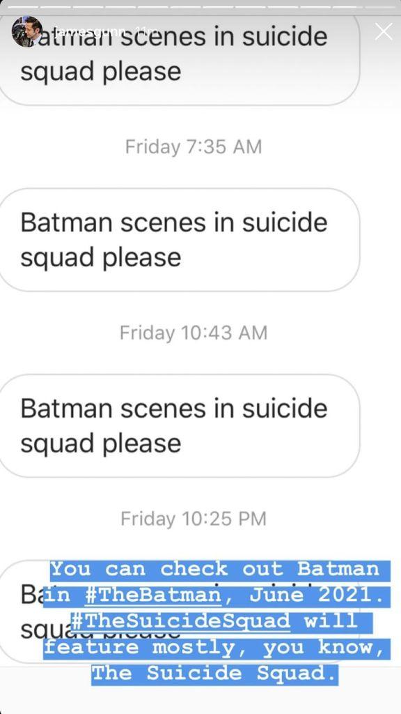 Robert Pattinson Batman en Suicide Squad