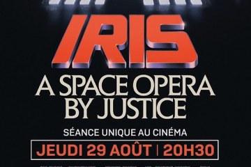 justice pelicula iris space opera espacial cines horarios 2019