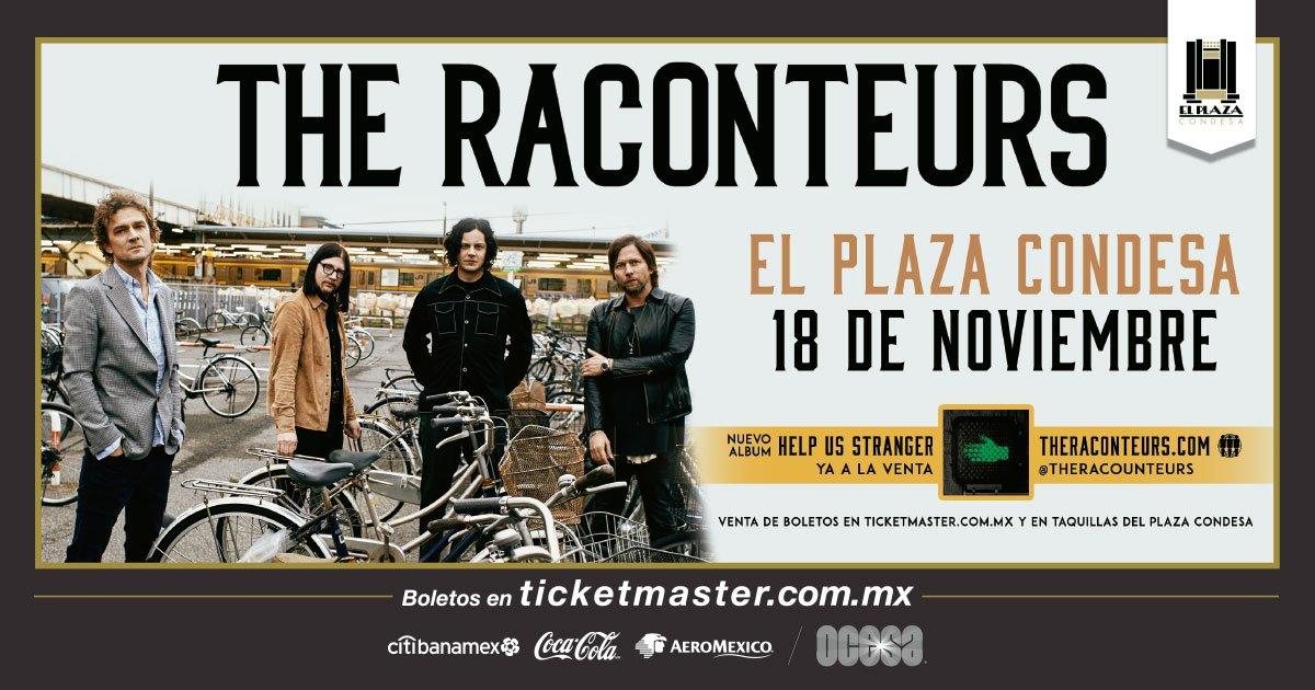 Después de Corona Capital, The Raconteurs dará un concierto en El Plaza