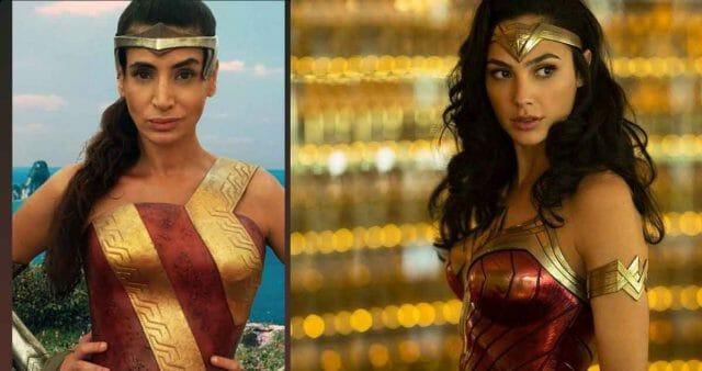 Nuevo traje Wonder Woman