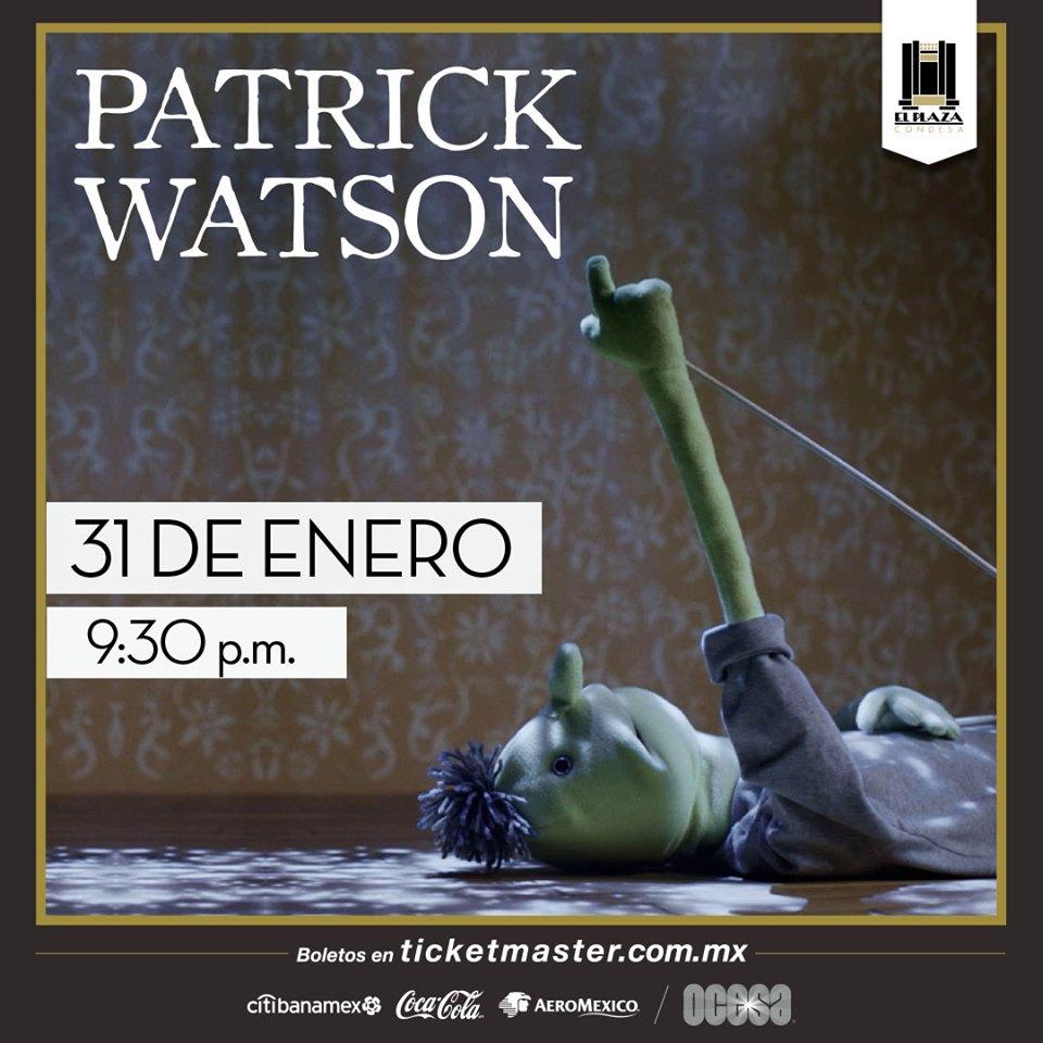 """Patrick Watson anuncia su nuevo disco: """"Love Songs for Robots"""", ¡no te lo pierdas en El Plaza!"""