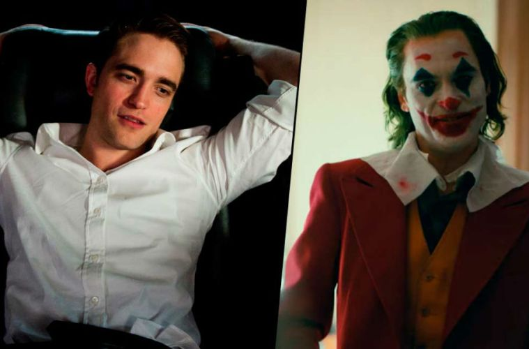 Robert Pattinson Joaquin Phoenix Batman Joker película crossover