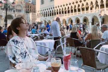 bts namjoon vacaciones fotos twitter kpop army venecia