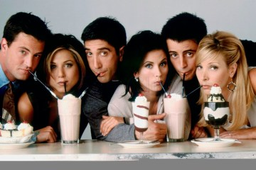 friends elenco original 25 aniversario jennifer aniston