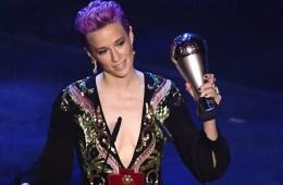 megan rapinoe premio fifa discurso futbol femenil the best