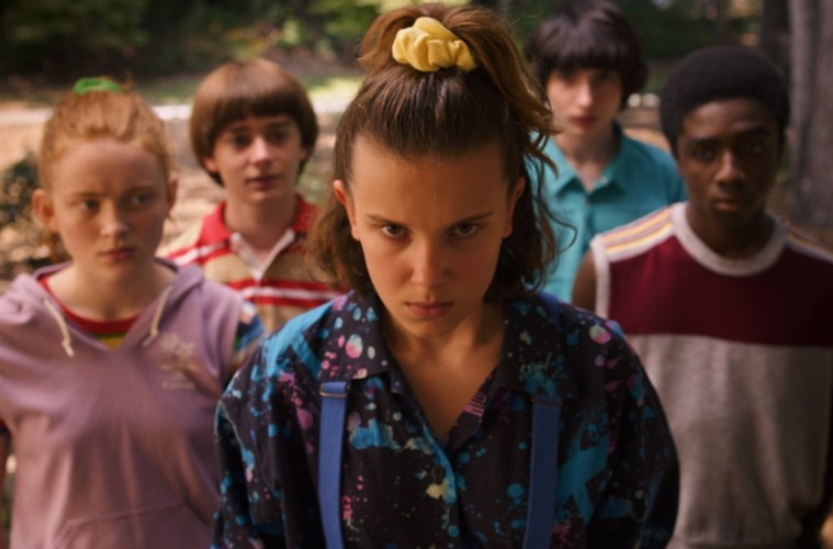 Stranger Things Los 4 fantásticos