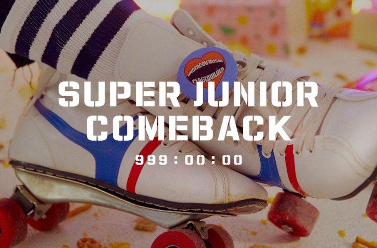 super junior regreso 999 nuevo disco conteo twitter