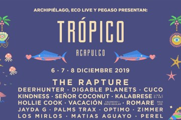 The Rapture, Deerhunter, Cuco y Hollie Cook encabezan Trópico 2019
