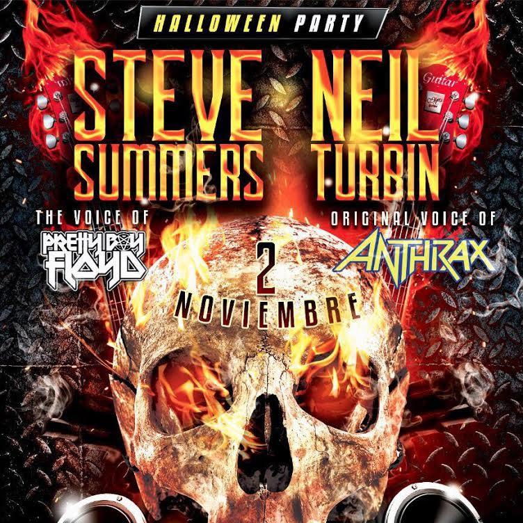 Steve Summers y Neil Turbin, juntos en el Kiss Lounge