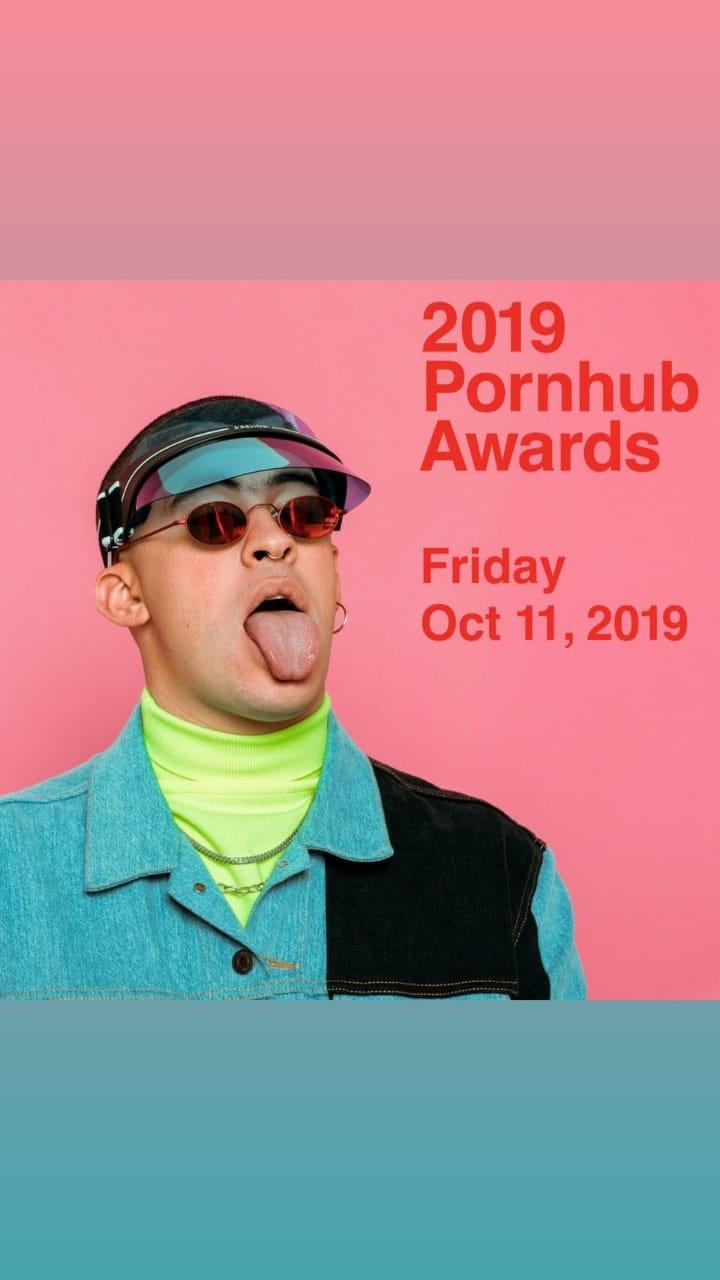 Bad Bunny Premios Pornhub 2019