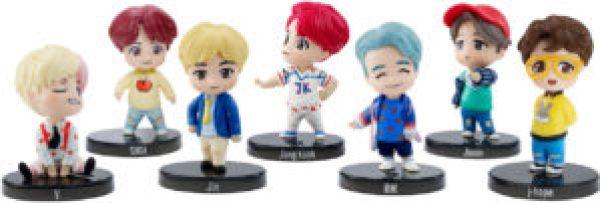 bts nuevas mini figuras coleccionables mattel
