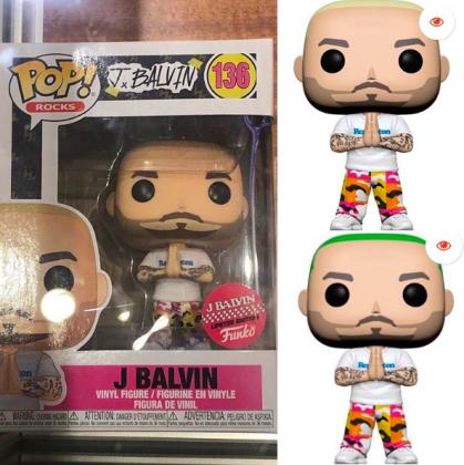 Funko Pop J Balvin