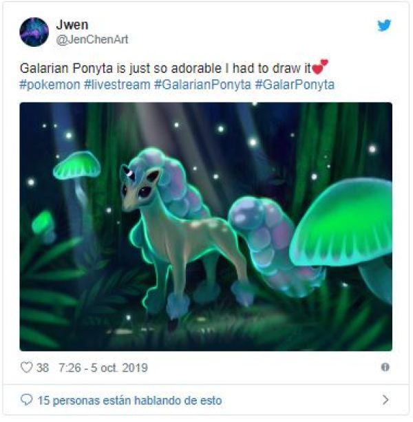 pokemon espada y escudo nuevo ponyta galar