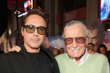 Robert Downey Jr. Stan Lee