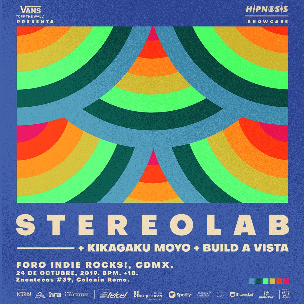 Además de su presentación el festival Hipnosis 2019, Stereolab dará un showcase en Foro Indie Rocks!