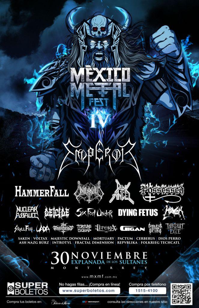 Emperor en Mexico Metal Fest