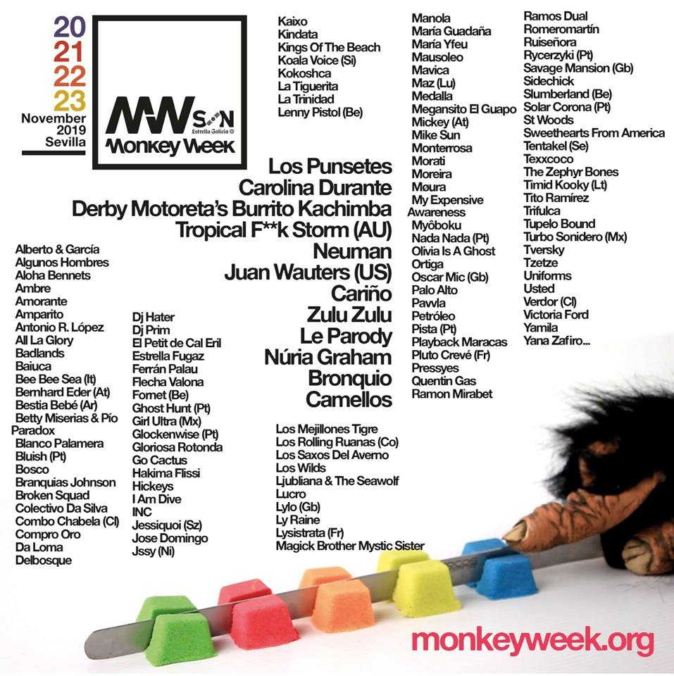 Monkey Week 2019 cartel