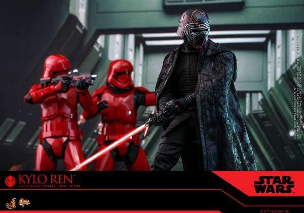 hot toys nueva figura kylo ren the rise of skywalker