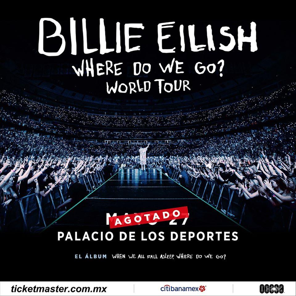 Billie Eilish en el Palacio de los Deportes