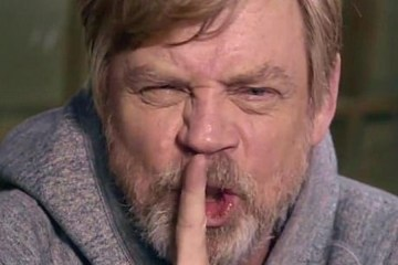 mark hamill advertencia spoilers the rise of skywalker