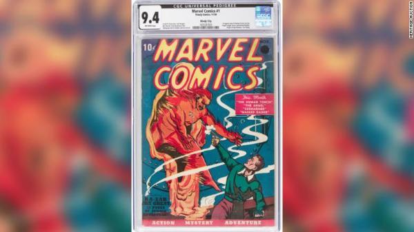 marvel primer comic costo subasta marvel comics 1