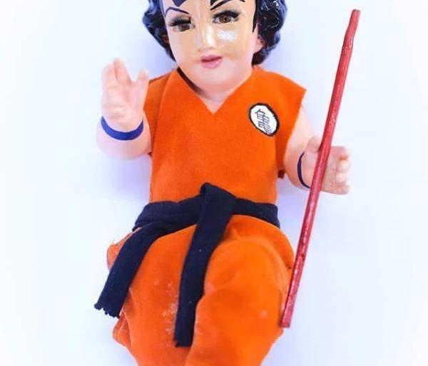 niño dios caracterizado goku joker freddie mercury puebl facebook viral