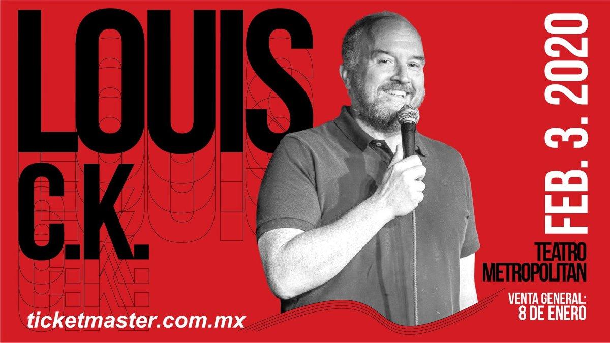 Louis C.K.-Metropolitan-CDMX