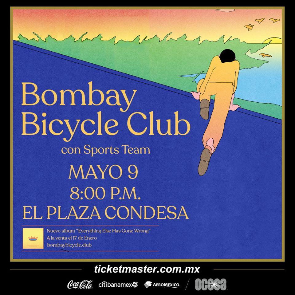 Bombay Bicycle Club regresa a la Ciudad de México