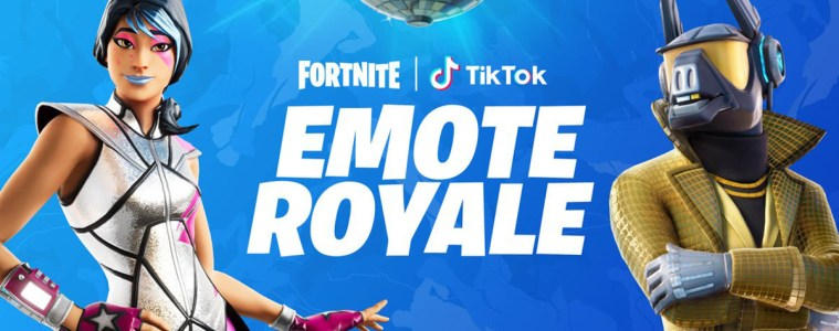 fortnite emote royal contest tik tok epic games 2020