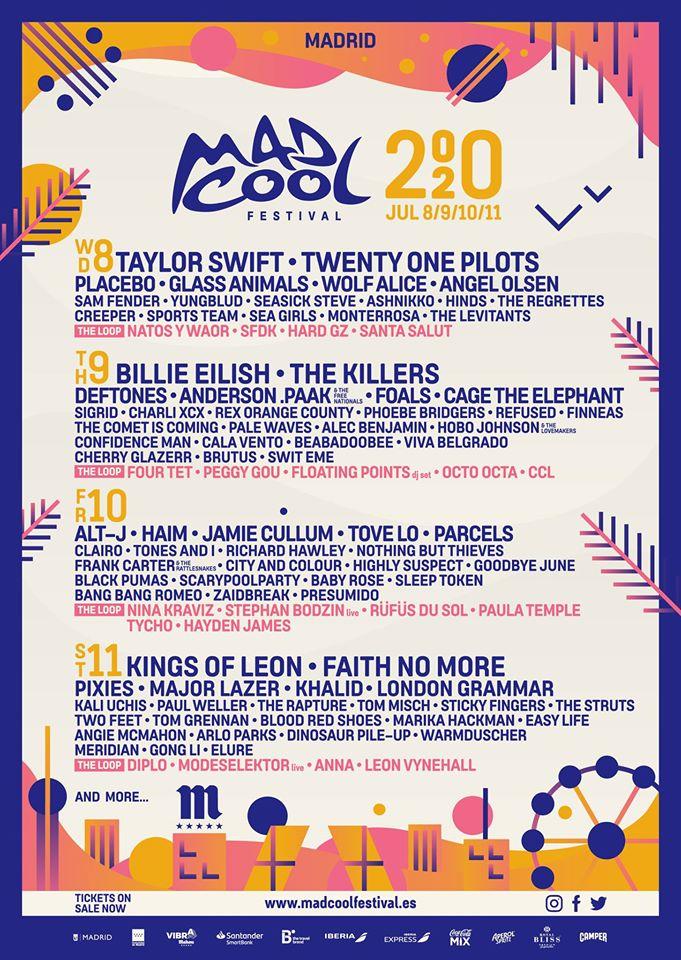 Mad Cool Festival nuevos artistas al cartel