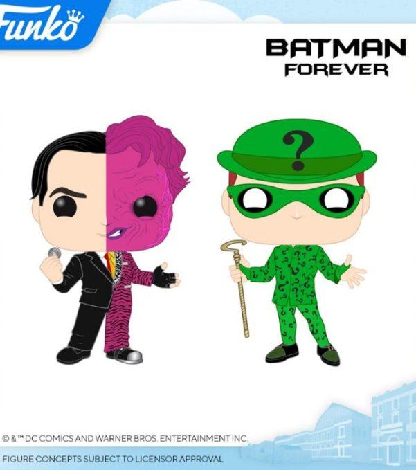 funko pop nuevas figuras batman peliculas joker dos caras acertijo