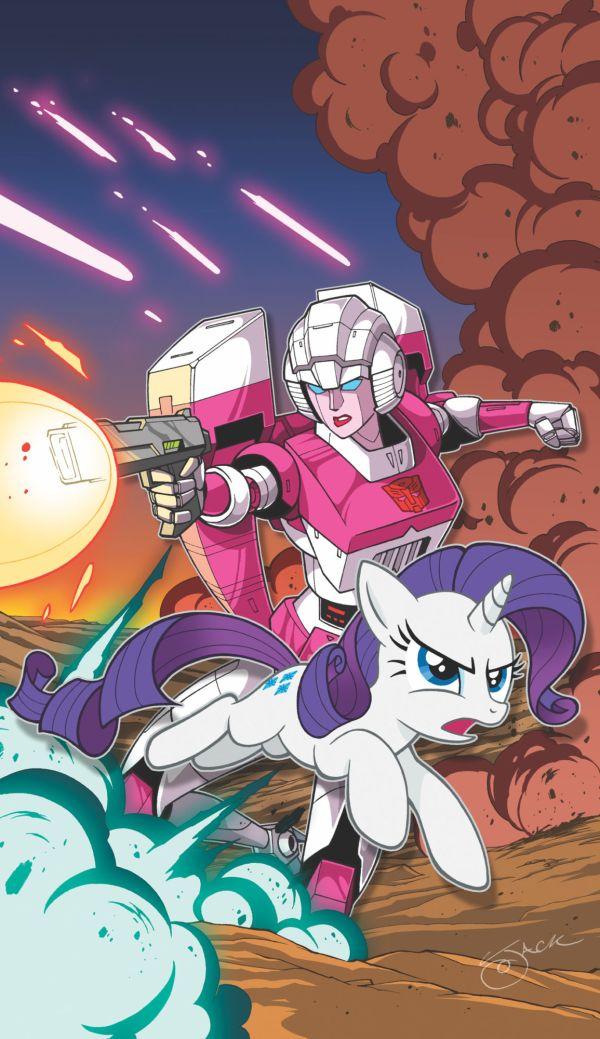 my little pony nuevo comic transformers