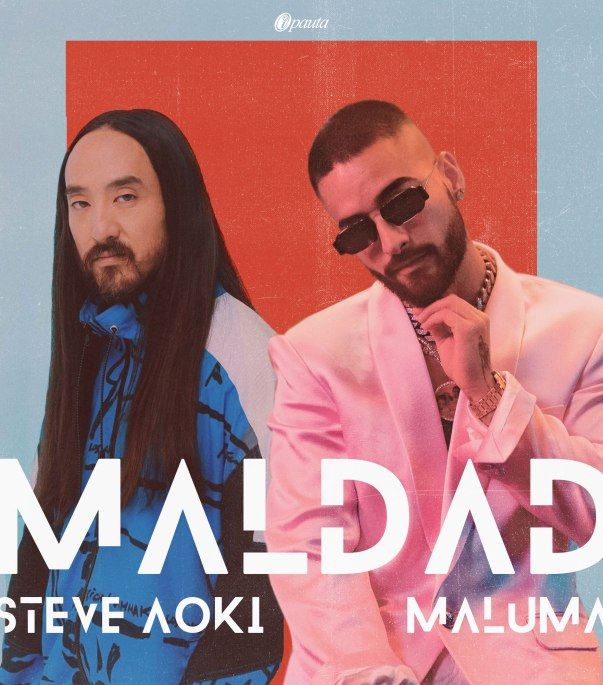 steve aoki nueva cancion maldad maluma video