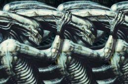 H.R. Giger Alien exposición solo con la noche terror