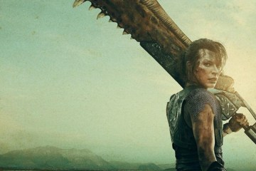 monster hunter nueva pelicula live action posters milla jovovich