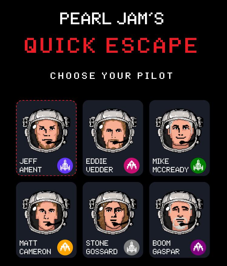 Pearl-Jam-Quick-Escape-juego