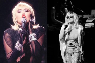 blondie-miley-cyrus-heart-of-glass-cover