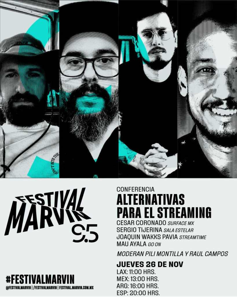 Alternativas para el streaming Festival Marvin 95
