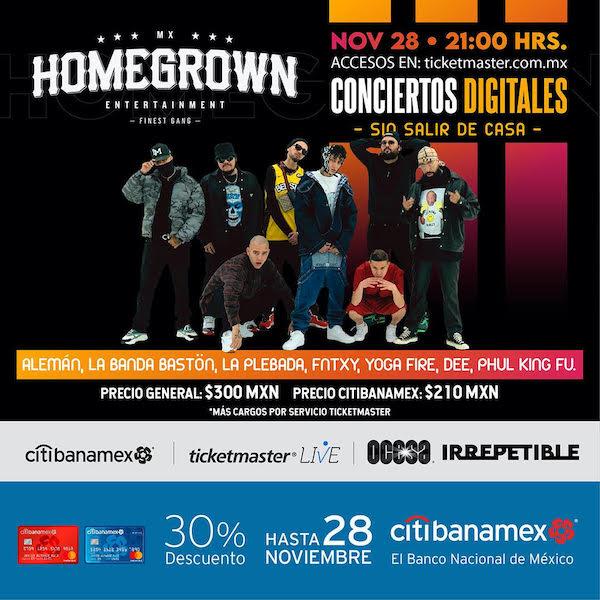 homegrown-mafia-concierto-streaming-ocesa-irrepetible