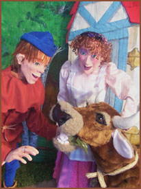 """The Wilton Historical Society Presents """"Jack and The Beanstalk: A Marionette Show"""""""