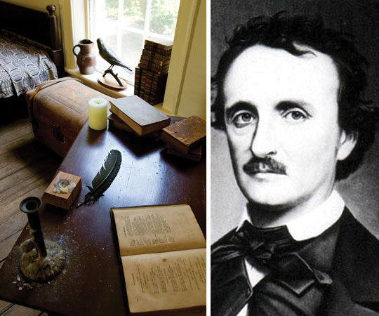 Designs of Yesterday: A Closer Look at the Dorm Room of Edgar Allan Poe