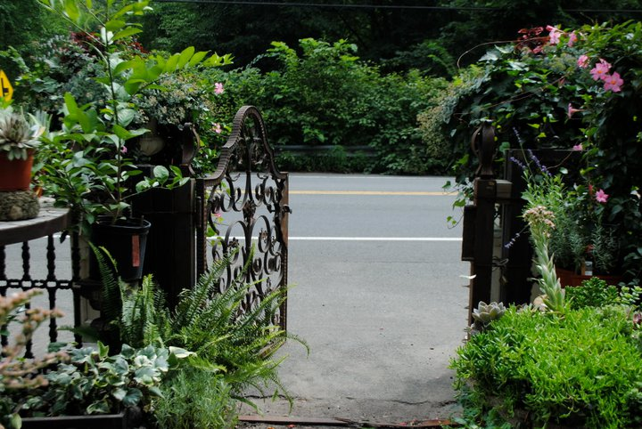 Garden Gates That Tell a Story