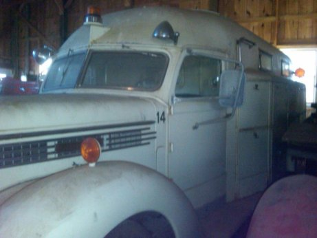 Cool Antique Rescue Truck Available for Sale