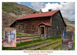 This is the wash house in which the coal miners would don their work clothes and then clean the coal dust at shift end.